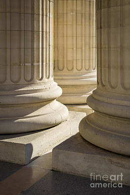 Photograph - Pantheon Columns by Brian Jannsen