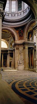 Pantheon Interior Paris France Print by Panoramic Images