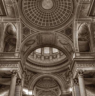 Photograph - Pantheon Vault by Michael Kirk