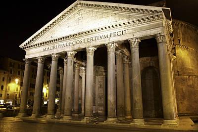 Photograph - Pantheon by Walt  Baker