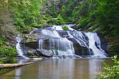 Photograph - Panther Creek Falls by Barbara Bowen