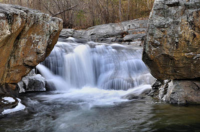 Panther Falls Print by Todd Hostetter