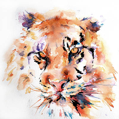 Painting - Panthera Tiger by Stephie Butler