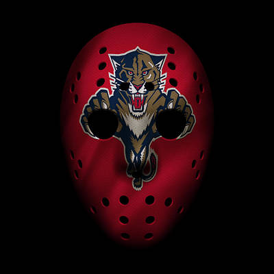 Photograph - Panthers Jersey Mask by Joe Hamilton