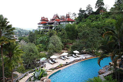 Panviman Chiang Mai Spa And Resort - Chiang Mai Thailand - 011331 Print by DC Photographer