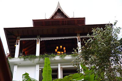 Panviman Chiang Mai Spa And Resort - Chiang Mai Thailand - 011366 Art Print by DC Photographer
