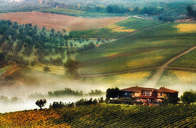 Photograph - Panzano In Chianti by John Galbo