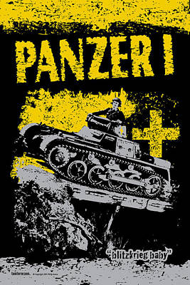 Panzer I Art Print by Philip Arena