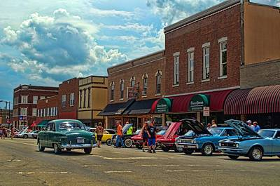 Photograph - Paola Heartland Car Show by Tim McCullough