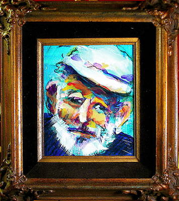 Painting - Papa by Les Leffingwell