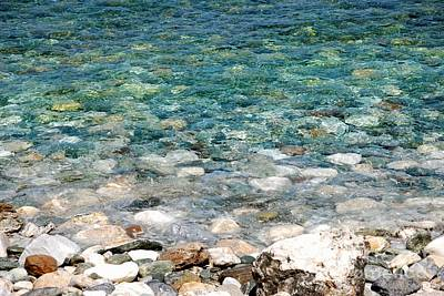 Pelion Photograph - Papa Nero Waters by Andrea Simon