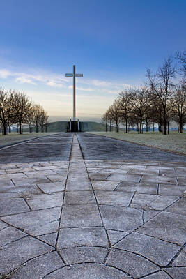 Photograph - Papal Cross In Dublin's Phoenix Park by Mark E Tisdale