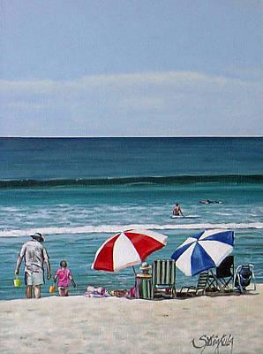 Papamoa Beach 150208 Art Print by Sylvia Kula