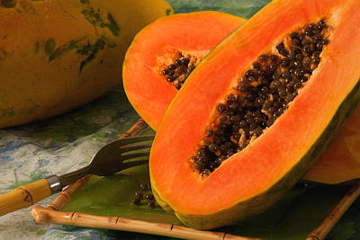 Photograph - Papaya by Matthew Pace