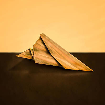 Photograph - Paper Airplanes Of Wood 2 by Yo Pedro