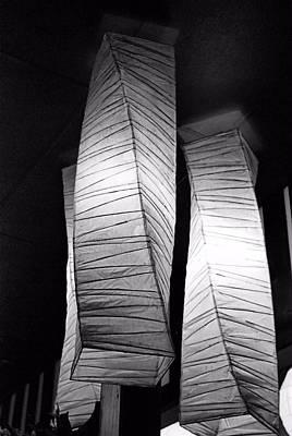 Photograph - Paper Lampshades by Bob Wall