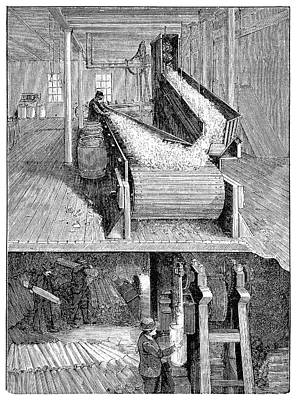 Paper Mill Industry Art Print