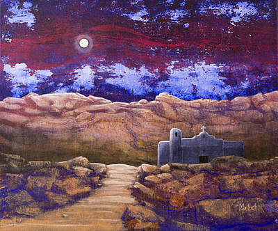 Painting - Paper Moon by Jack Malloch