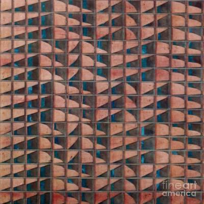 Paper Relief Art Print by Jan Willem Van Swigchem