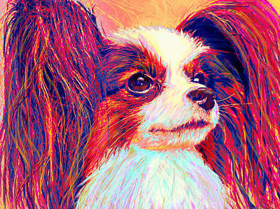 Papillion Digital Art - papillion II by Jane Schnetlage