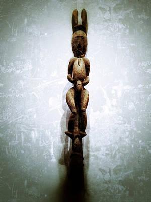 Oceania Digital Art - Papua New Guinea Ancestral Figure by Natasha Marco
