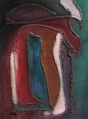 Painting - Papyrus 2 by Oscar Penalber