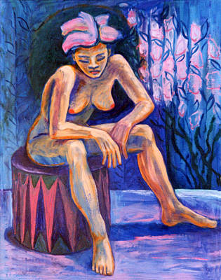 Naked Woman Painting - Para Ti Tres by Terrie  Rockwell