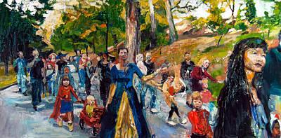Parade IIi Art Print by Mia Merlin
