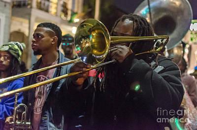 Photograph - Parade Jazz - Nola by Kathleen K Parker