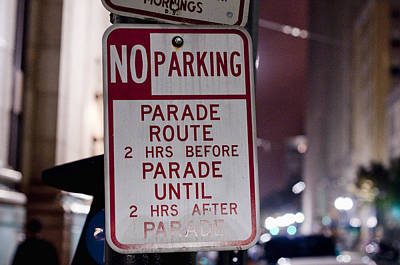 Photograph - Parade Parking by Barry Cole