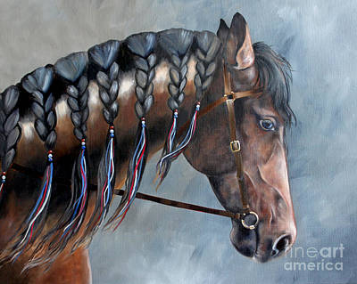 Painting - Parade Profile by Debbie Hart