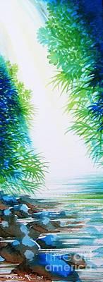 Painting - Paradise Calling by Frances Ku
