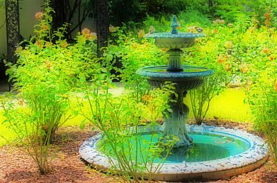 Savannah Parks Gardens Photograph - Paradise Corner by Iryna Goodall