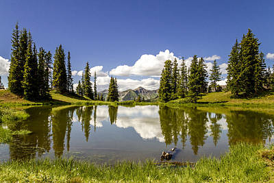 Photograph - Paradise Divide Above Crested Butte Co by Teri Virbickis