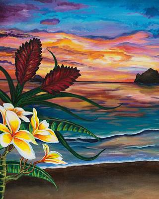 Bromeliad Painting - Paradise by Emily Brantley