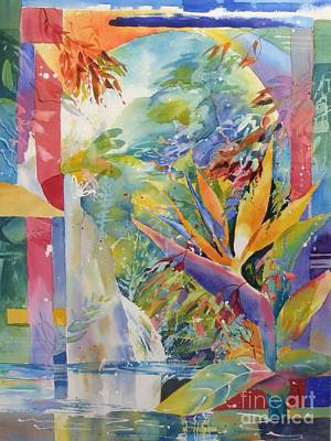 Painting - Paradise Found by John Nussbaum