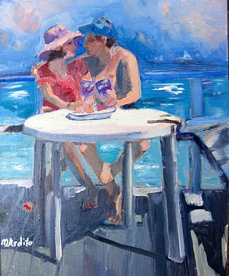 Painting - Paradise Found by MaryAnne Ardito