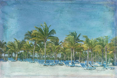 Beach Landscape Painting - Paradise II by Ramona Murdock