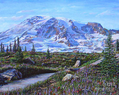 Painting - Paradise Is Not A Fantasy by LeRoy Jesfield