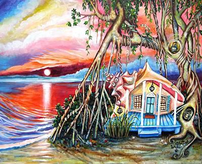 Paradise Island Original by Abigail White