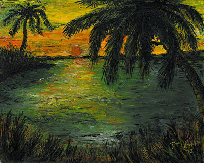 Painting - Paradise Lagoon by Doug Kreuger