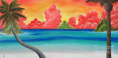 Paradise Panorama Art Print
