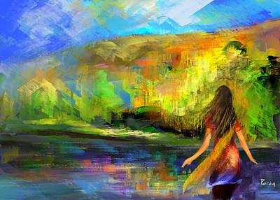 Digital Art - Paradise by Parag Pendharkar