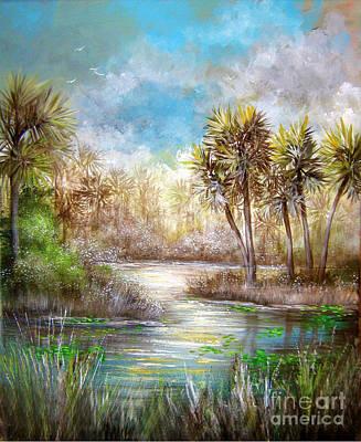Paradise Art Print by Patrice Torrillo
