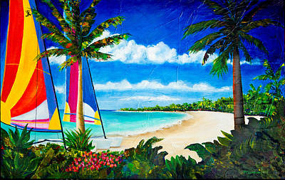 Painting - Paradise by Phyllis London
