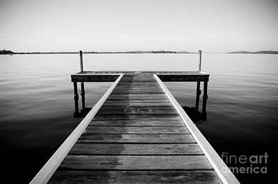 Caravaggio - Paradise Pier Black and White by THP Creative