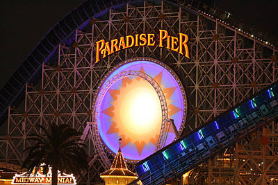 Photograph - Paradise Pier by David Nicholls