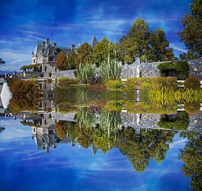 Biltmore Photograph - Paradise Reflection by Betsy Knapp