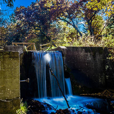 Photograph - Paradise Springs Waterfall by Randy Scherkenbach