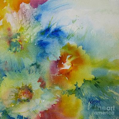 Painting - Paradisiac by Donna Acheson-Juillet